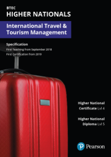 BTEC Higher Nationals in International Travel and Tourism Management specification