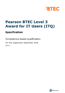 pearson btec level 4 hncd diploma