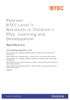 promoting childrens play learning and development essay Areas of learning and development essay sample 11 explain each of the areas of learning and development and how these are interdependent it is important to remember that these six areas of learning do not work in isolation but are in fact interlinked.