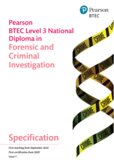 National Diploma in Forensic and Criminal Investigation