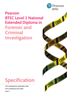 National Extended Diploma in Forensic and Criminal Investigation