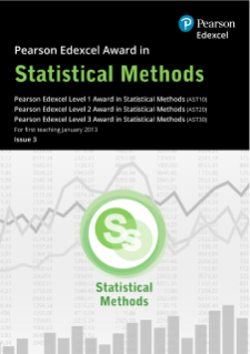 Pearson Edexcel Level 1 Award in Statistical Methods