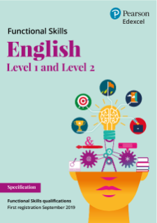 Pearson Edexcel Functional Skills English - Level 1 and Level 2 specification