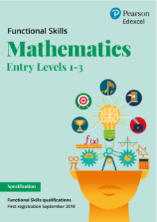 Functional Skills Mathematics - Entry Level 1-3 specification