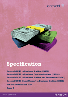 Gcse business studies coursework