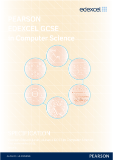 Edexcel GCSE Computer Science 2013 specification