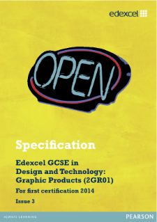 gcse graphics coursework edexcel In year 11 the students undertake their final coursework, worth 60% of their final  grade  the edexcel gcse in engineering (double award) aims to enable  students to  as/a level gce design & technology: product design – graphics  with.
