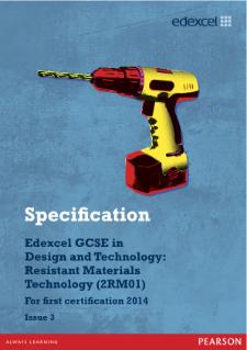 Gcse design technology resistant materials coursework