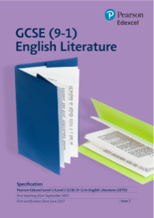 Edexcel GCSE English Literature (9-1) from 2015 | Pearson