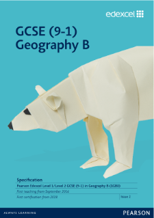 Edexcel GCSE (9-1) Geography B draft specification