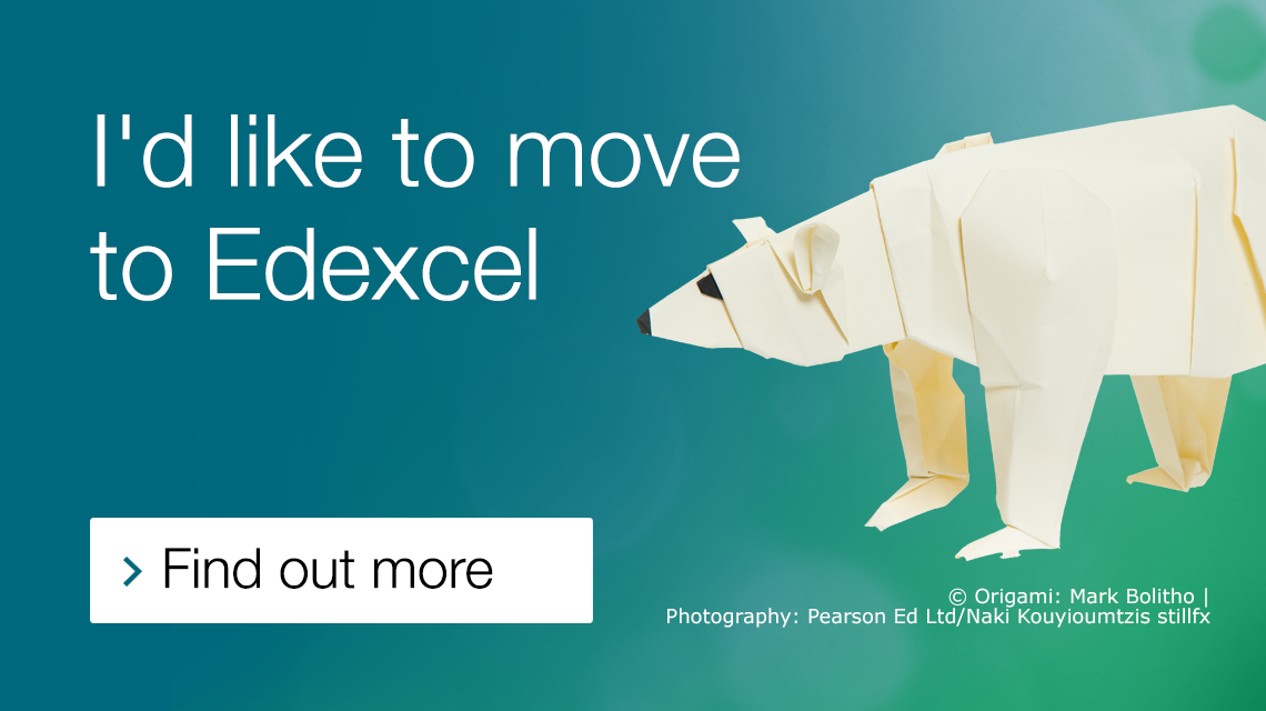 Find out more about moving to Edexcel