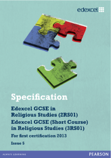 edexcel past papers religious studies 2012 This wide-ranging syllabus aims to promote an enquiring, critical and sympathetic approach to the study of religion.