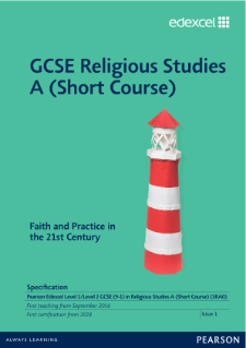 GCSE Religious Studies A specification (Short Course)