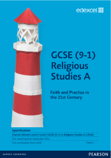 GCSE Religious Studies A specification