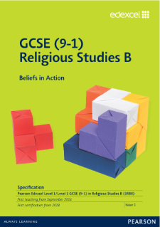 Religious Studies B (2016) specification