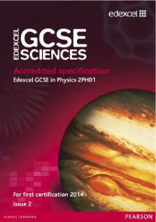 Edexcel GCSE Physics 2011 specification