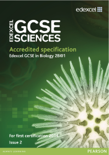 Edexcel GCSE Biology 2011 specification
