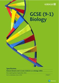 Edexcel GCSE Biology specification