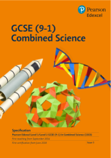 Edexcel GCSE Combined Science specification