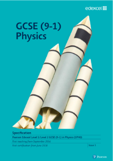 Edexcel GCSE Physics specification