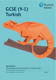 Edexcel GCSE (9-1) Turkish specification