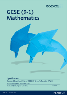 GCSE Mathematics 2015 specification