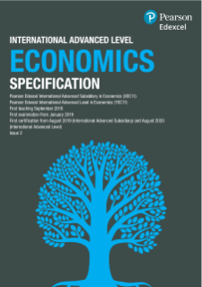Economics (2018) | Pearson qualifications