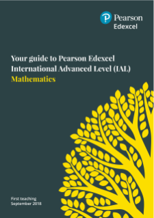 International Advanced Levels Mathematics (2018) | Pearson