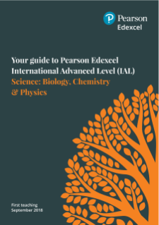 Edexcel International Advanced Level Chemistry (2018) | Pearson