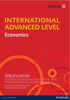 International Advanced Level Economics