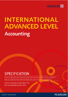 International Advanced Level Accounting