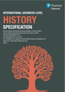 International Advanced Level History specification