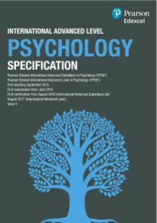 Edexcel International Advanced Level Psychology (2015