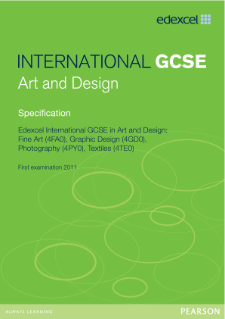 Edexcel International GCSE Art and Design 2009 specification