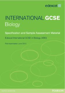 edexcel international gcse biology pearson qualifications