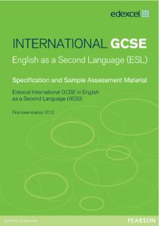 igcse english second language sample essays