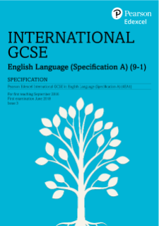 Edexcel International GCSE English Language A | Pearson qualifications
