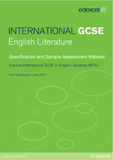 edexcel igcse english literature coursework English language igcse edexcel length of course: 5 half-day sessions boards: edexcel 4ea0 this course is suitable for year 11 students sitting english igcse with.