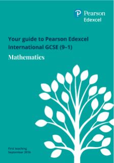 Edexcel International GCSE Mathematics A (2016)   Pearson qualifications