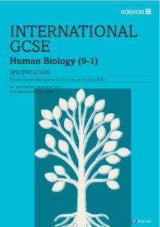 Edexcel International GCSE Human Biology (2017) | Pearson