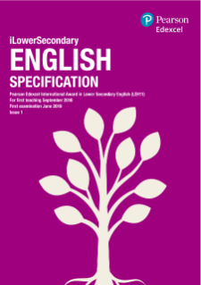 Pearson Edexcel International Award in Lower Secondary English (LEH11)