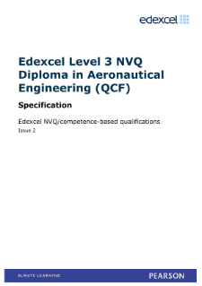 NVQ Diploma in Aeronautical Engineering specification