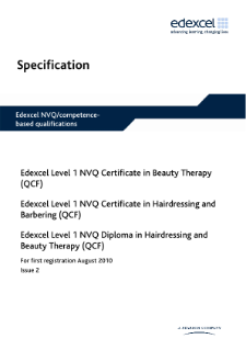 Specification - Level 1