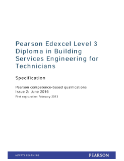 Specification - Level 3