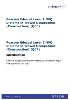 Specification - Level 1 and 2