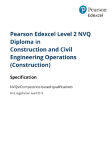 Level 2 Diploma Construction and Civil Engineering Operations (Construction)