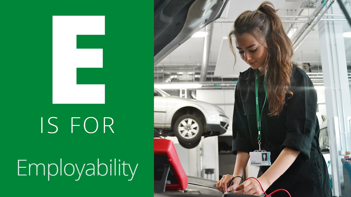 E is for Employability