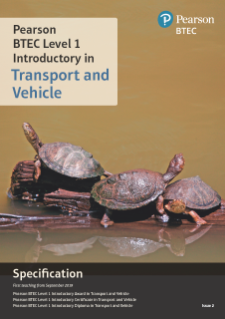 Specification for Transport and Vehicle (L1 Introductory)