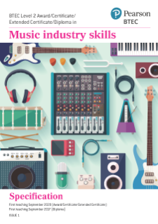 BTEC Level 2 in Music Industry Skills - Specification