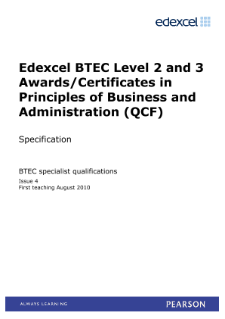 btec business l2 unit 3 p1 Read this full essay on btec business l2 unit 1 p5 characteristics of the sutton business environment in sutton, there are multiple markets (mass markets.